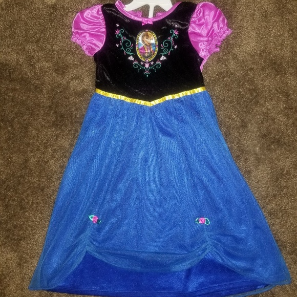 disney princess anna halloween costume 4t toddler